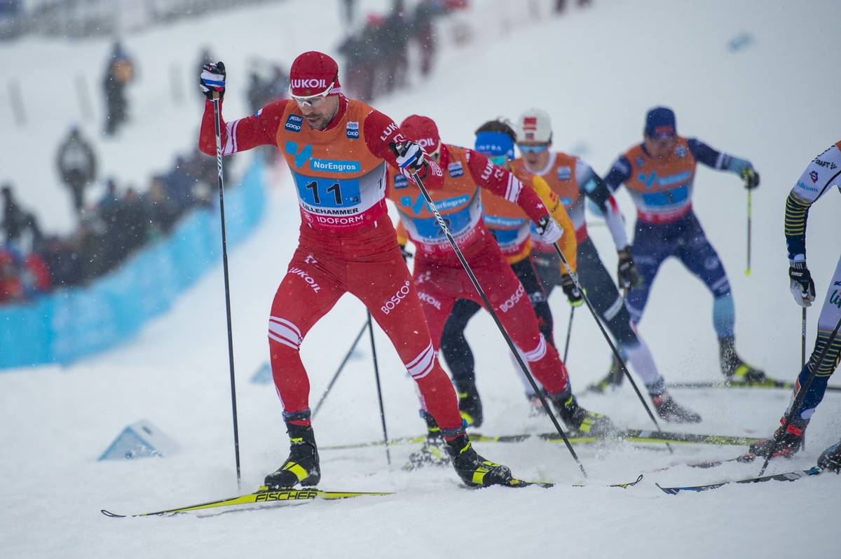 08.12.2019, Lillehammer, Norway (NOR):<br /> Sergey Ustiugov (RUS) - FIS world cup cross-country, 4x10km men, Lillehammer (NOR). www.nordicfocus.com. © Vianney THIBAUT/NordicFocus. Every downloaded picture is fee-liable.