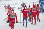 Ustiugov Closes with a Fury as Russia Goes 1-2 in Lillehammer Relay