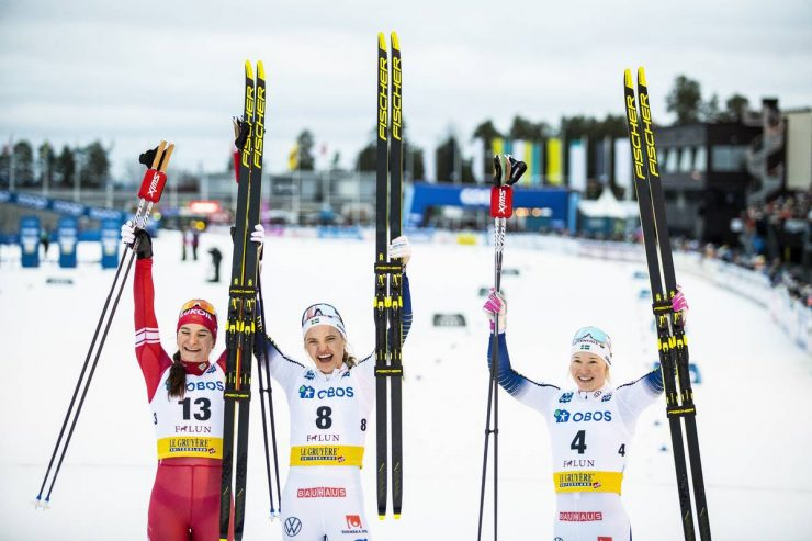 Sweden S Svahn Takes The Win On Home Soil Caldwell 7th In Seven Person Final Fasterskier Com