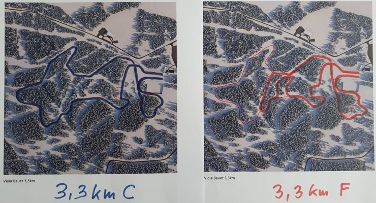 Maps of the 2020 Junior Worlds courses. Maybe. (Photo: courtesy John Estle)
