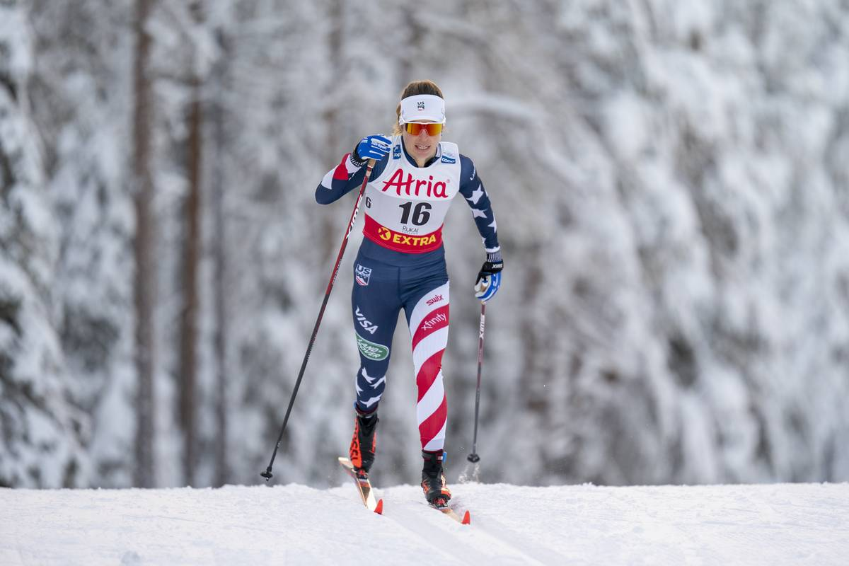 10 K Classic in Ruka Serves Up a Win for Therese Johaug: Rosie Brennan 8th