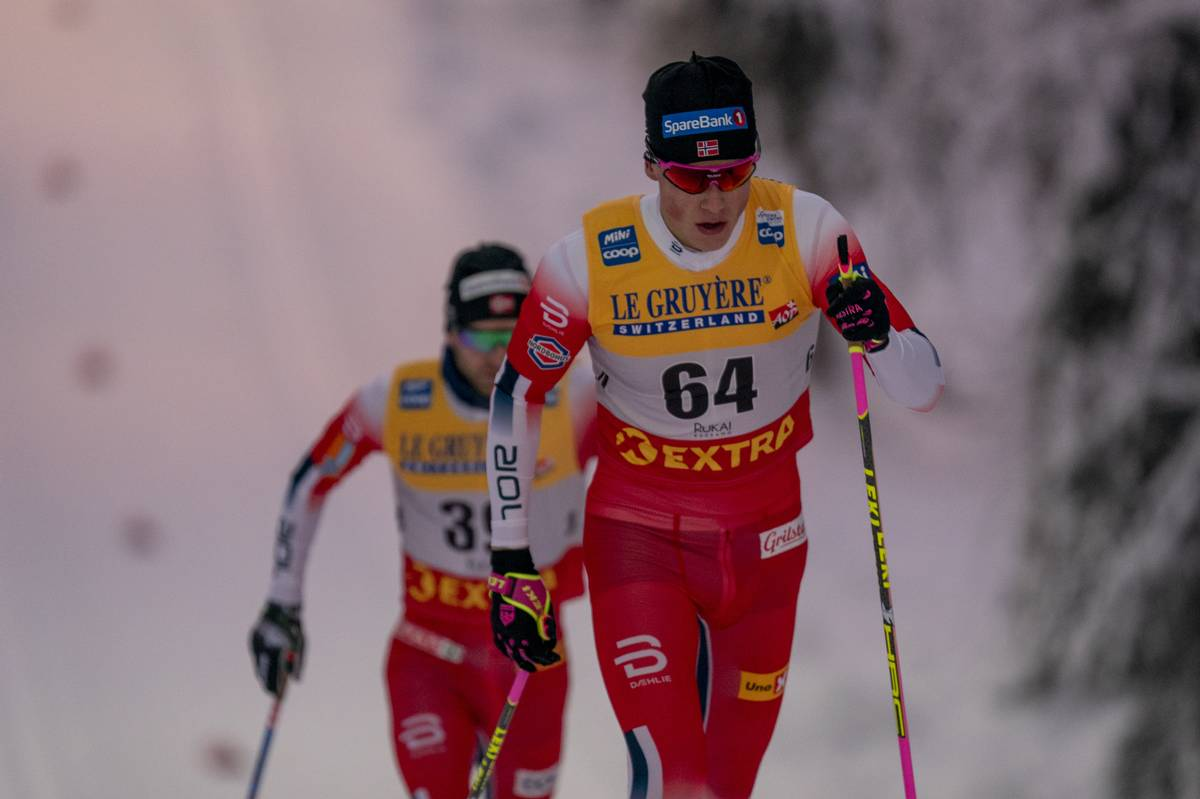 Setting Up Tension for Sunday's Final – Johannes Høsflot Klæbo Wins Ruka's 15 k Classic