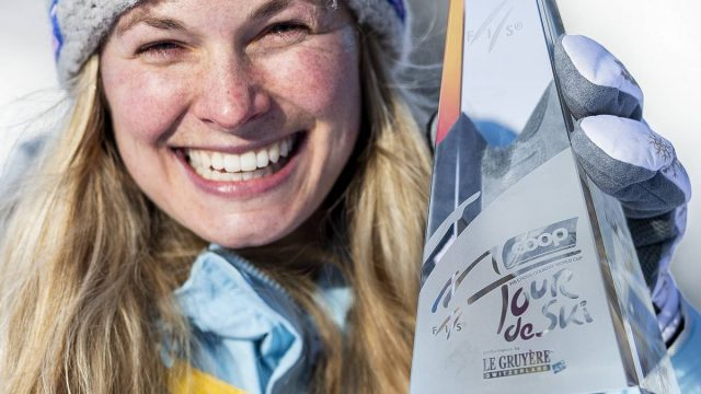 Diggins Becomes the First North American to Win the Tour de Ski