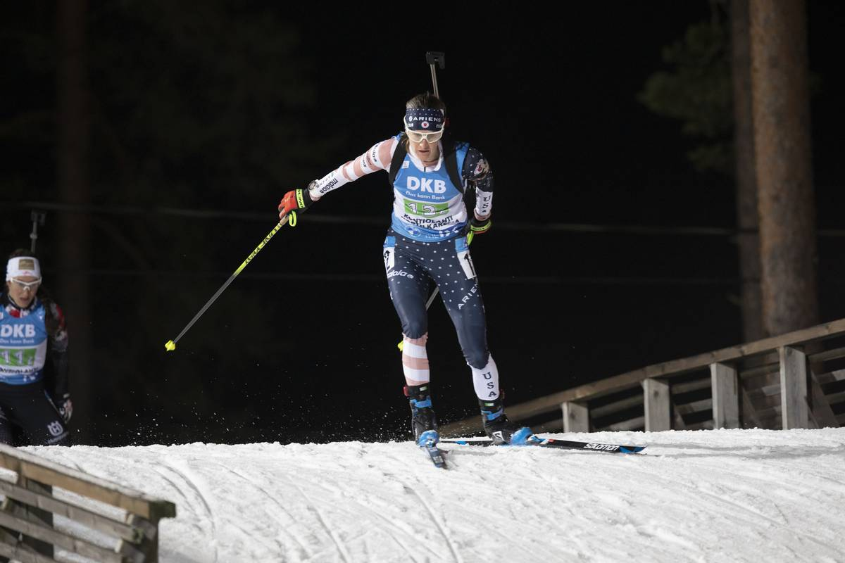 Steady as She Goes this Season: Clare Egan on the IBU World Cup