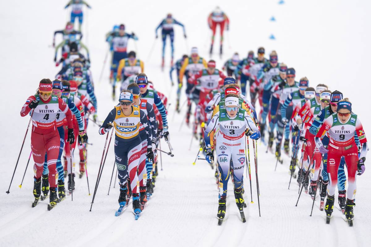 Norway Returns with Gusto, Sweeping the Women's Podium in the 7.5/7.5 K Skiathlon; Diggins 5th