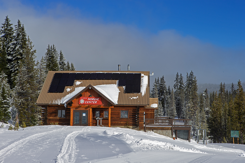 Crossing Over at  the Mt. Bachelor Nordic Center: Barry Wicks