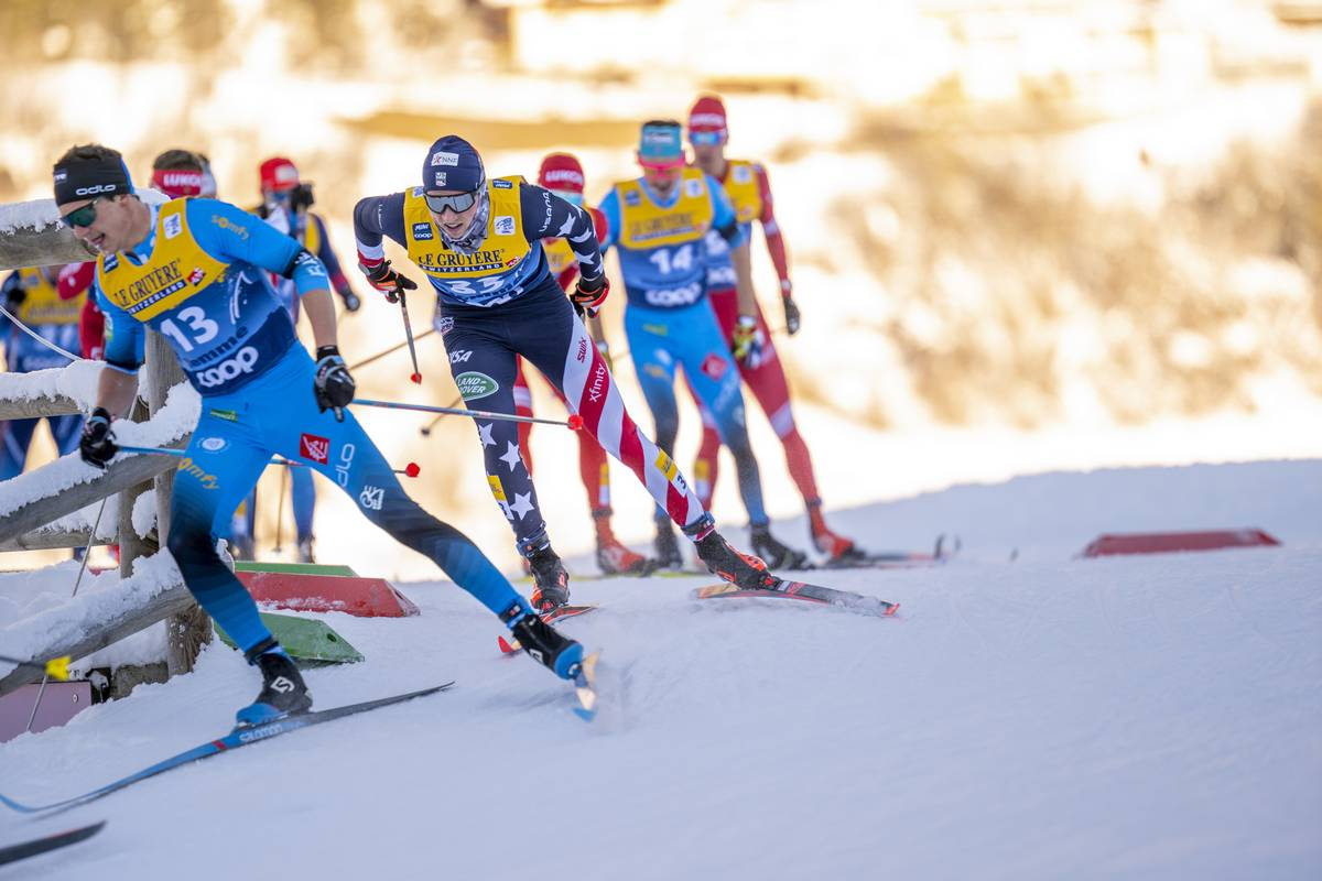 The Devon Kershaw Show: Stage 6 of the Tour de Ski – The 10 k and 15 k Mass Start Classic from Val di Fiemme