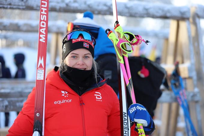Hedda Østberg Amundsen at the 2021 U23 World Championships in Vuokatti (FIN). Photo: Daily Skier