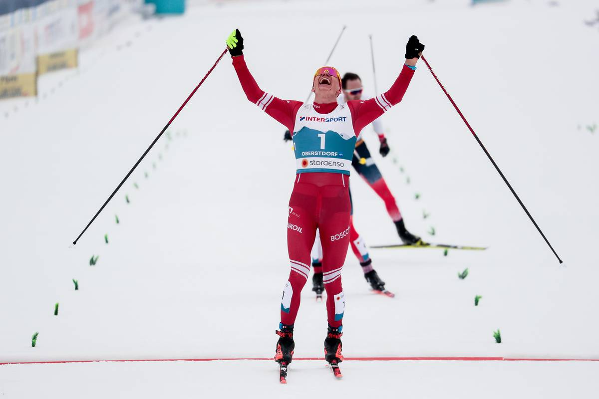 Bolshunov Victorious in the 30-Kilometer Skiathlon; Patterson 13th, Norris 17th