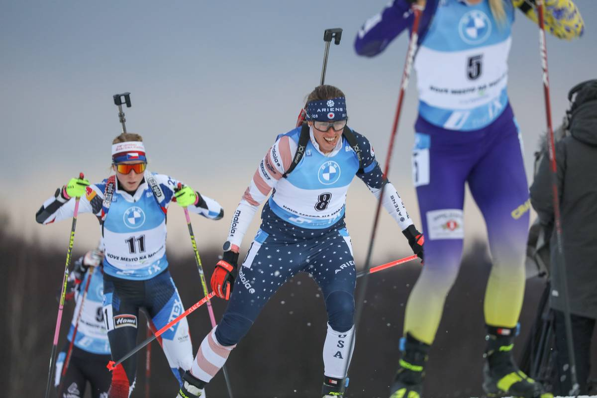 Dunklee In Reach of Olympic Qualification After Nove Mesto World Cup (Press Release)