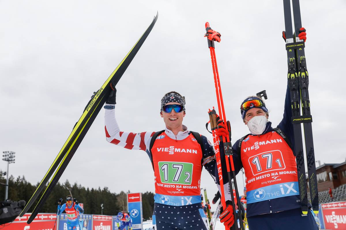 Bronze for Dunklee/Doherty Caps Strong Mixed Relay Day (Press Release)