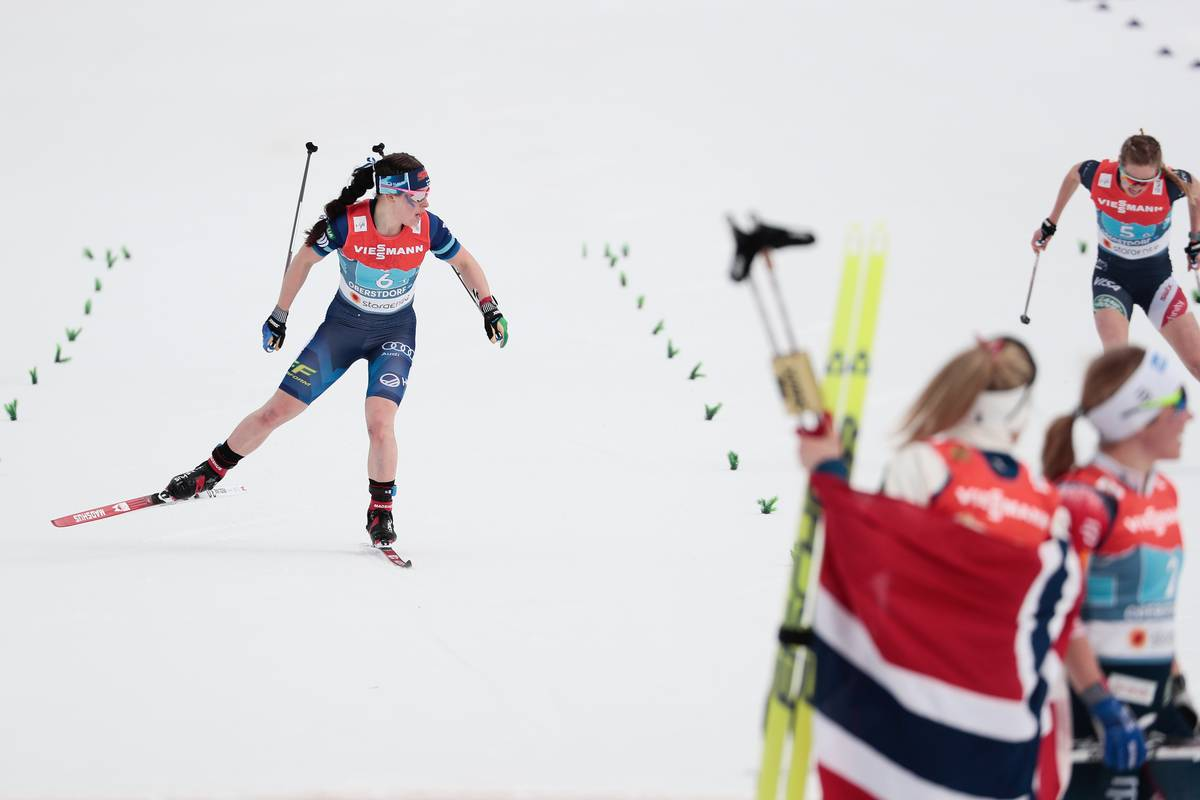 Norway Leaves No Doubt in 4 x 5 k Championship Relay Win; Finland and U.S. Down to the Wire with Finland Taking Bronze.