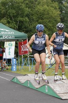 NENSA Rollerski Series Gains Momentum: An Interview with Justin Beckwith