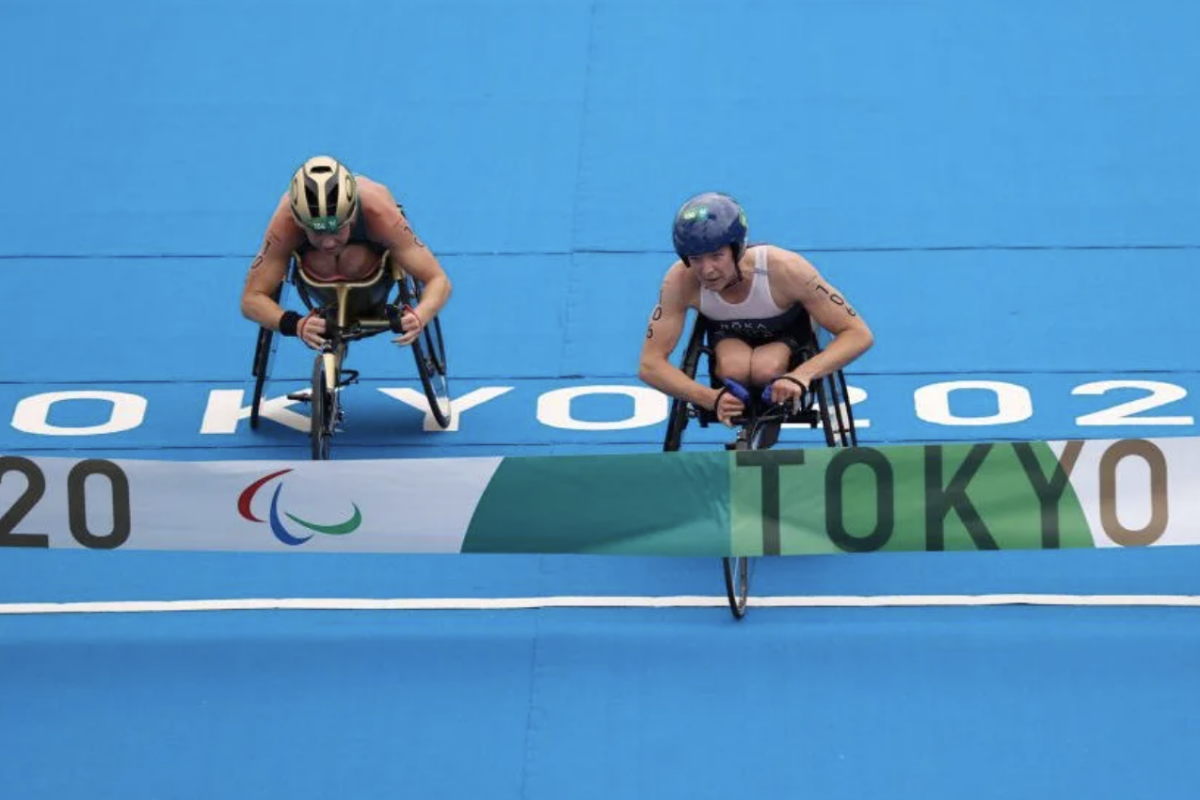 Kendall Gretsch Makes History With Gold Medal in Paratriathlon