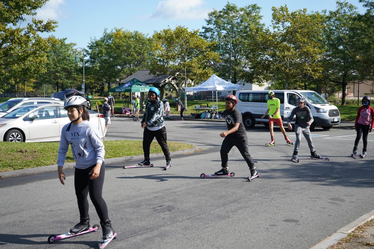 NENSA Camp Series: Introduction to Rollerskiing with Kait Miller